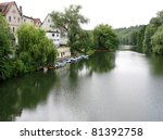 Houses Along The River Necktar...