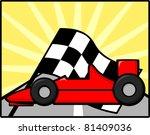 auto racing | Shutterstock .eps vector #81409036