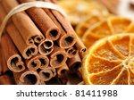 Cinnamon Sticks And Dried...