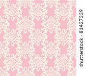 seamless floral retro pattern.... | Shutterstock .eps vector #81427339