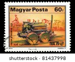 hungary   circa 1979  a stamp... | Shutterstock . vector #81437998