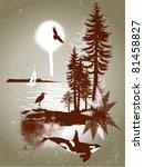 detailed west coast scene grunge | Shutterstock .eps vector #81458827