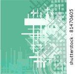 technology background | Shutterstock .eps vector #81470605