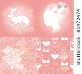 feminine pink collection   Shutterstock .eps vector #81472474