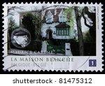 belgium circa 2011  a post... | Shutterstock . vector #81475312