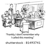"""""""frankly  i do not remember why ... 