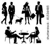 lot of people   vector... | Shutterstock .eps vector #81536485