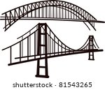 arch,architecture,black,bridge,cable,connection,destination,drawing,frame,icon,illustration,isolated,journey,landmark,link
