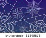 spider web | Shutterstock . vector #81545815