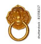 The Vintage Knocker Of Golden...
