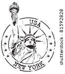 new york   Shutterstock .eps vector #81592828