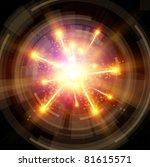 Big Bang - Explosion & radial design