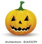 halloween pumpkin | Shutterstock .eps vector #81633259