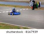 go cart racer | Shutterstock . vector #8167939