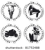 Set Of Original Stamps