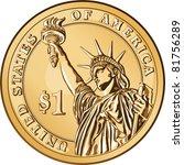 Vector American Money  One...