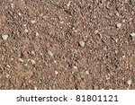 Gravel  Pebbles And Sand Closeup