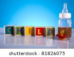 baby and children toys | Shutterstock . vector #81826075