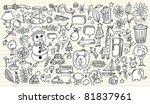 notebook doodle sketch design... | Shutterstock .eps vector #81837961