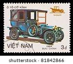 viet nam   circa 1984  stamp... | Shutterstock . vector #81842866