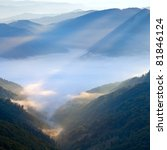 Autumn Morning Mountain View...