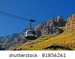 funicular on table mountain... | Shutterstock . vector #81856261