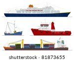 boat,cargo,cartoon,container ship,cruise ship,design,fishing,fishing boat,graphic,illustrations,marine,port,sea,ship,steamboat