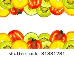 background of beautiful mix... | Shutterstock . vector #81881281