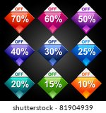 price tags | Shutterstock .eps vector #81904939