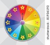 wheel of fortune | Shutterstock .eps vector #81936193