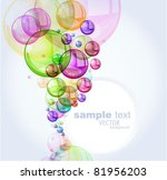 color abstract with transparent ...