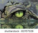 Drawing Of Crocodile Eye