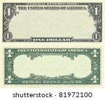 Clear 1 Dollar Banknote Pattern ...