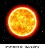 sun   raster version | Shutterstock . vector #82018849