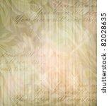 vintage flower wallpaper ... | Shutterstock .eps vector #82028635