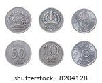 ancient coins to swedens...   Shutterstock . vector #8204128