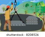 when construction begins  the... | Shutterstock . vector #8208526