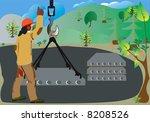 when construction begins  the... | Shutterstock . vector #8208526