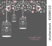 Vintage Bird Cages Design With...