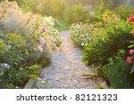 Road In The Beautiful Garden