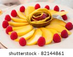some decoration with fruit... | Shutterstock . vector #82144861