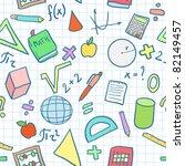 seamless pattern  mathematics... | Shutterstock .eps vector #82149457