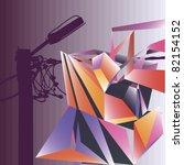 the vector illustration  of the ...   Shutterstock .eps vector #82154152