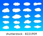 collection pattern shapes... | Shutterstock .eps vector #8221909