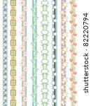 beautiful border designs   Shutterstock .eps vector #82220794