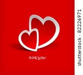 Hearts. Vector Illustration....