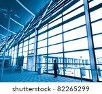 modern international airport... | Shutterstock . vector #82265299
