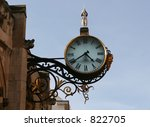 A York city clock - stock photo