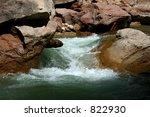 Zion River Flow