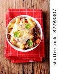pasta alla bolognese with...   Shutterstock . vector #82293307